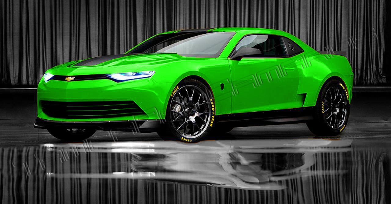 Transformers 4 2014 Concept Camaro Revealed Tampa Bay