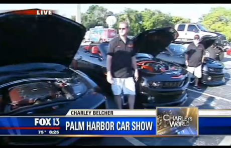 TBC on Fox 13 for the Palm Harbor Car Show