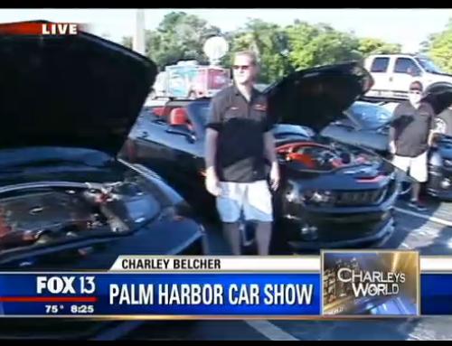 TBC on Fox 13 for the Palm Harbor Car Show