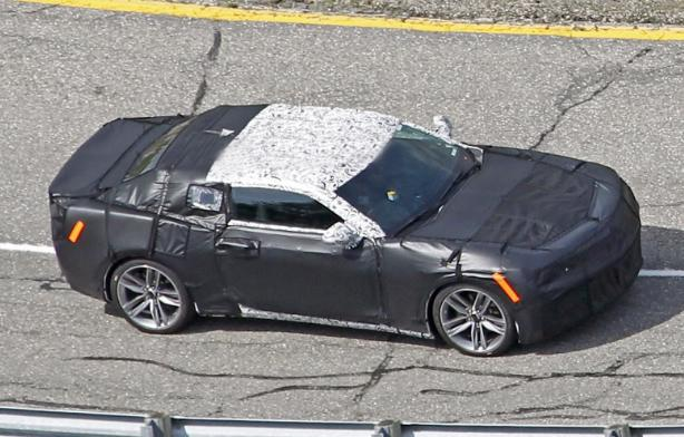 2016 Camaro Spy Shot