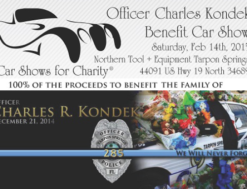 Officer Charles Kondek Benefit Car Show