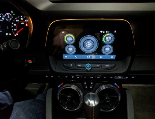 Real Time Gauges for Android Auto